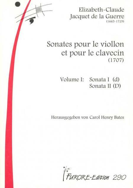 Sonates pour le Viollon et pour le clavecin - Volume 1: Sonata I (d), Sonata II (D)