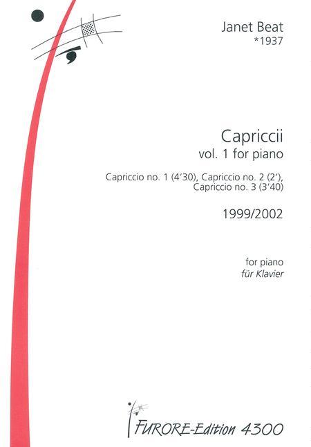 3 Capriccii vol. 1 for piano