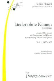 Lieder ohne Namen (1820-1844) - Volume 1 & 2