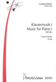 Klaviermusik I