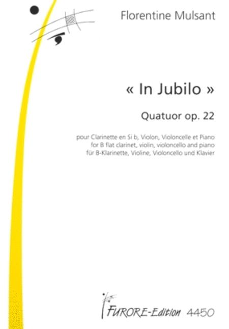 In Jubilo. Quartet for clarinette, violin, violoncello and piano op. 22