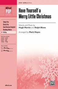 Have Yourself A Merry Little Christmas Lead Sheet.Have Yourself A Merry Little Christmas By Hugh Martin And
