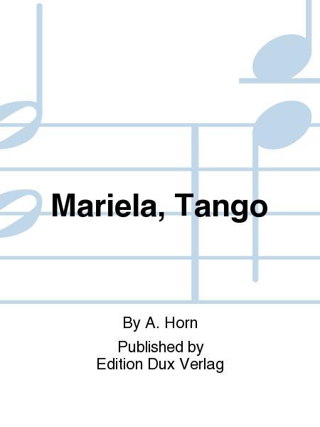 Mariela, Tango
