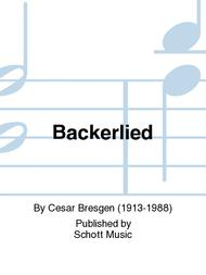 Backerlied