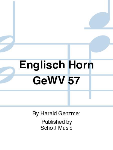 Englisch Horn GeWV 57