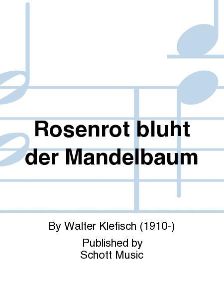 Rosenrot bluht der Mandelbaum