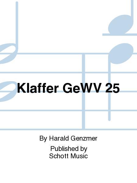 Klaffer GeWV 25