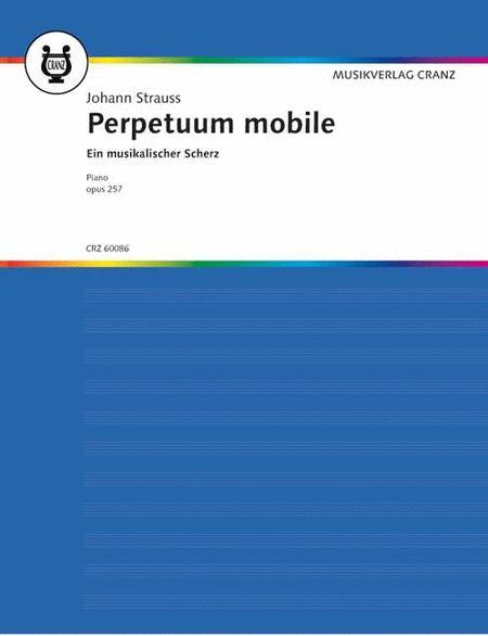 Perpetuum mobile op. 257