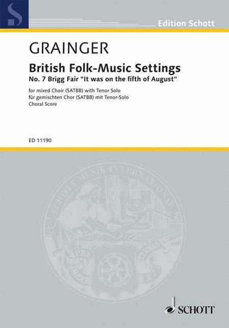 British Folk-Music Settings