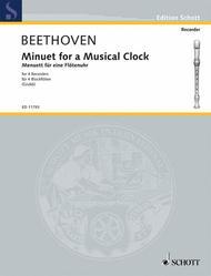 Minuet for a Musical Clock WoO 33
