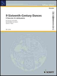 9 Sixteenth-Century Dances