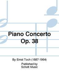 Piano Concerto op. 38