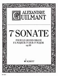 7. Sonata F Major op. 89/7