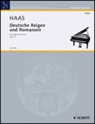 Deutsche Reigen und Romanzen op. 51