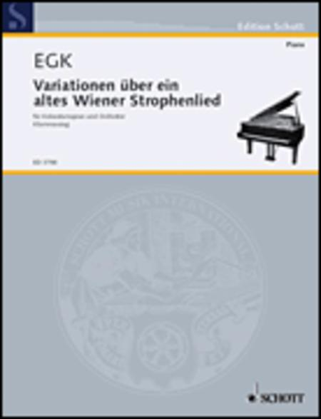 Variationen uber ein altes Wiener Strophenlied