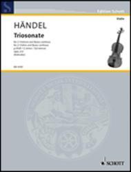 Nine Trio Sonatas op. 2 Nr. 2