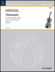 Nine Trio Sonatas op. 2 Nr. 9