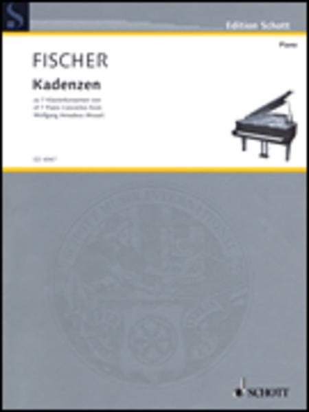 Cadenzas for 7 piano concertos of Wolfgang Amadeus Mozart