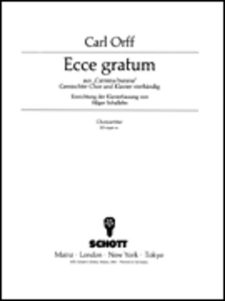 Ecce gratum