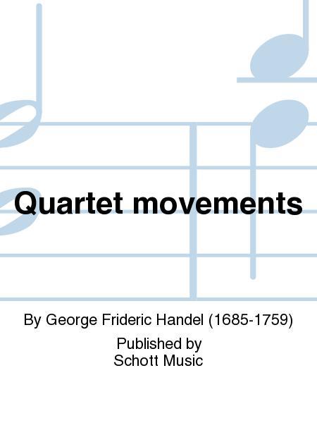 Quartet movements
