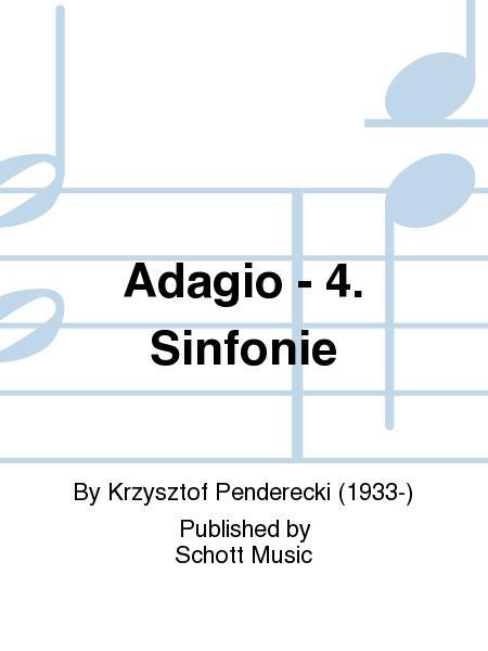 Adagio - 4. Sinfonie