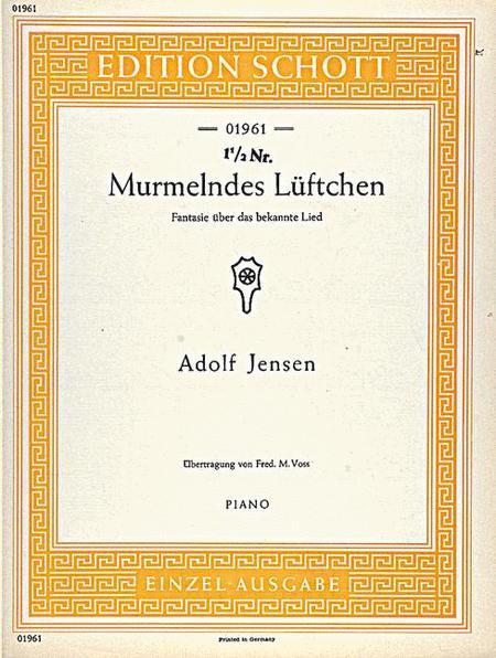 Murmelndes Luftchen op. 21/4