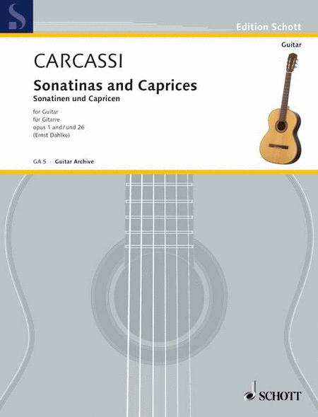 Sonatinas And Caprices (Urtext) Op. 1 Und 26
