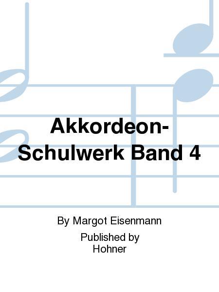 Akkordeon-Schulwerk Band 4