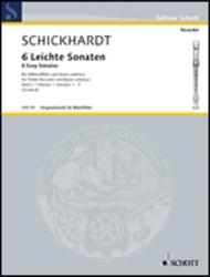 Six easy Sonatas Heft 1