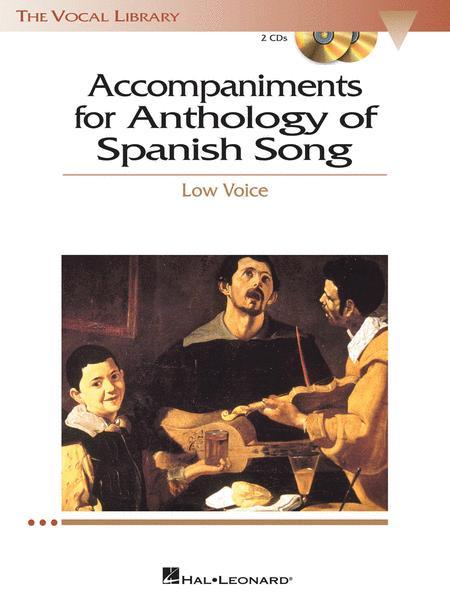 Anthology of Spanish Song Accompaniment CDs