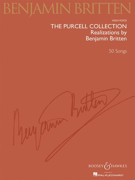 The Purcell Collection Realizations By Benjamin Britten Sheet