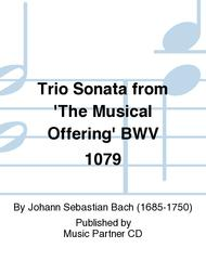Trio Sonata from the Musical Offering BWV 1079(C)