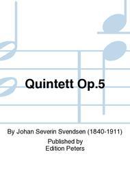 Quintett Op. 5