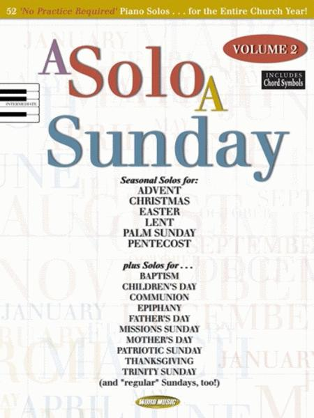 A Solo a Sunday - Volume 2