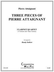 Three Pieces of Pierre Attaignant