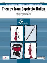 Capriccio Italien, Themes from
