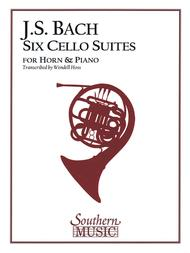 Six Cello Suites for horn