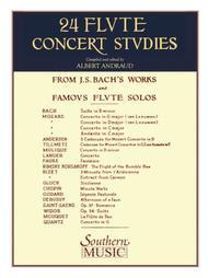 Twenty-Four (24) Flute Concert Studies