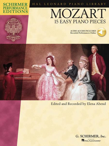Mozart - 15 Easy Piano Pieces Sheet Music By Wolfgang