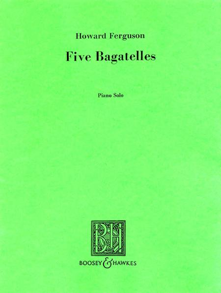 5 Bagatelles for Piano