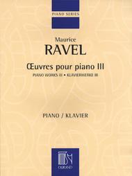Piano Works III