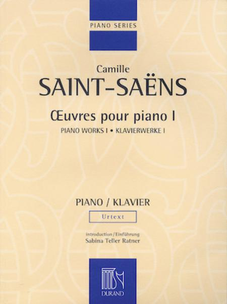Oeuvres Pour Piano - Volume I