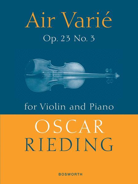 Air Varie Op. 23 No. 3