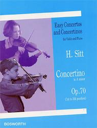 Concertino in A Minor Op. 70