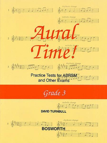 David Turnbull: Aural Time! Practice Tests - Grade 3