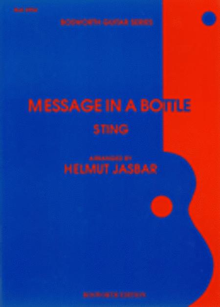 Sting: Message In A Bottle