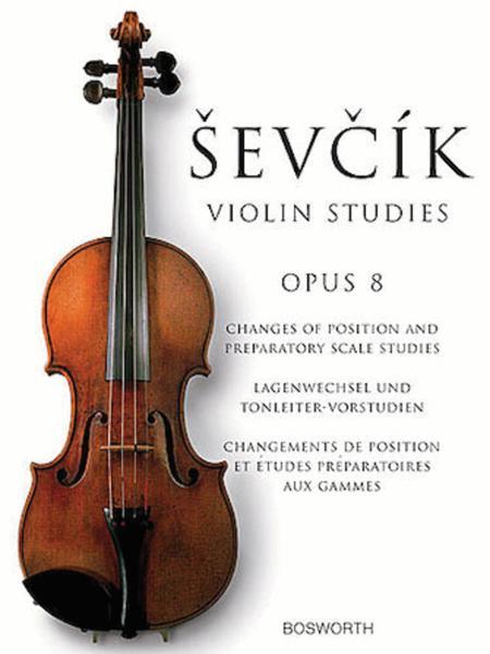 Sevcik Violin Studies - Opus 8