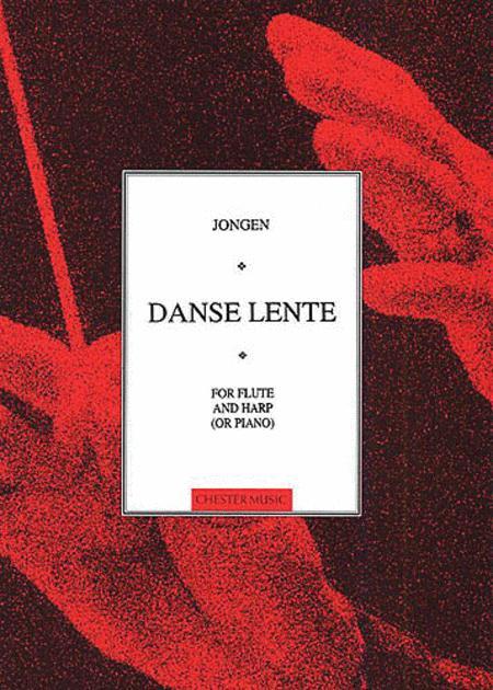 Danse Lente (Flute and Harp Or Piano)