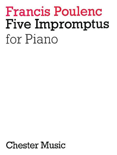 5 Impromptus for Piano
