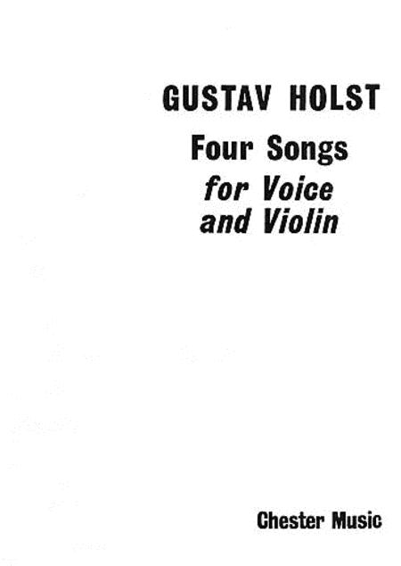 4 Songs for Voice and Violin, Op. 35